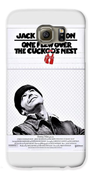One Flew Over The Cuckoo's Nest Galaxy S6 Case by Movie Poster Prints