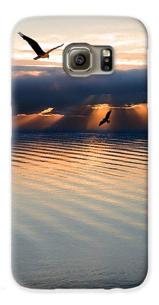 Ospreys Galaxy S6 Case by Mal Bray