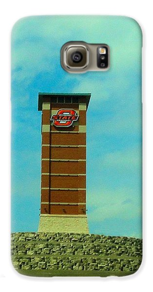 Oklahoma State University Gateway To Osu Tulsa Campus Galaxy S6 Case by Janette Boyd