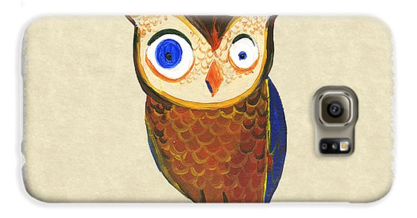 Owl Galaxy S6 Case by Kristina Vardazaryan