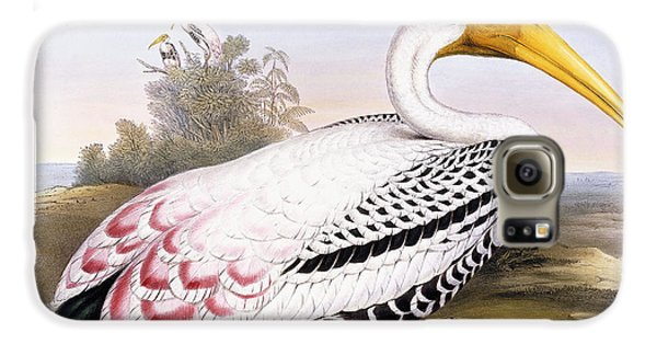 Painted Stork Galaxy S6 Case by John Gould