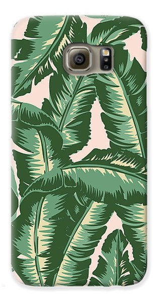 Palm Print Galaxy S6 Case by Lauren Amelia Hughes