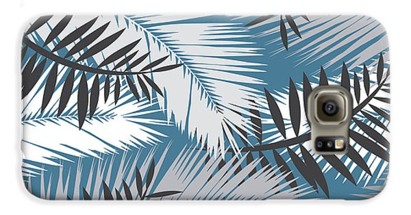 Palm Trees 10 Galaxy S6 Case by Mark Ashkenazi