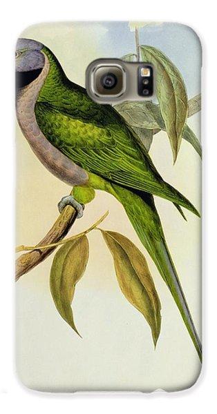 Parakeet Galaxy S6 Case by John Gould
