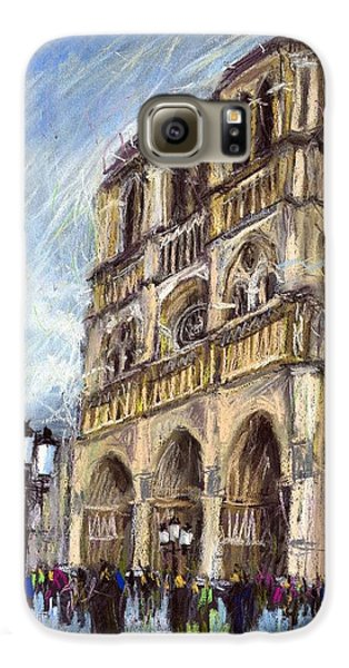 Paris Notre-dame De Paris Galaxy S6 Case by Yuriy  Shevchuk