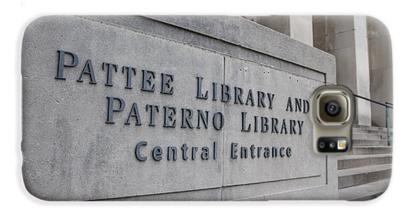 Paterno Library At Penn State  Galaxy S6 Case by John McGraw