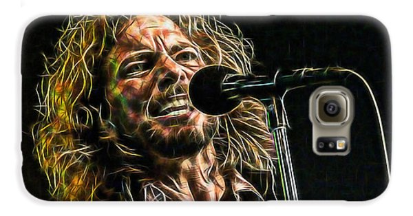 Pearl Jam Eddie Vedder Collection Galaxy S6 Case by Marvin Blaine
