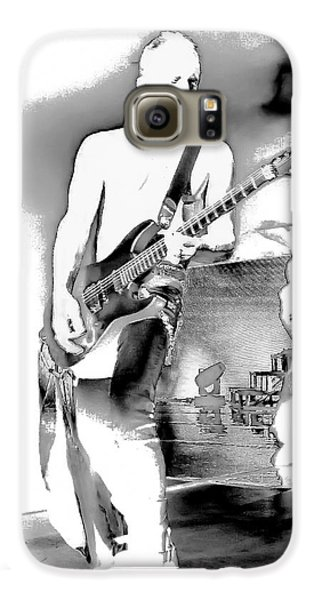 Phil Collen Of Def Leppard Galaxy S6 Case by David Patterson