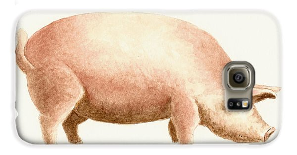 Pig Galaxy S6 Case by Michael Vigliotti