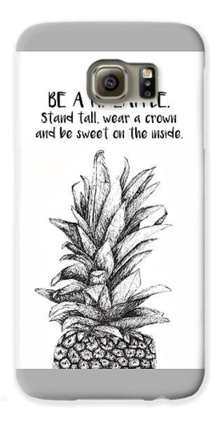 Pineapple Galaxy S6 Case by Nancy Ingersoll