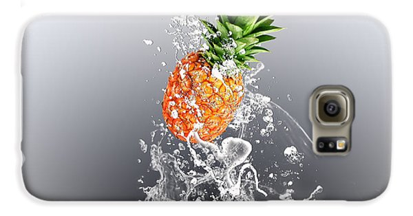 Pineapple Splash Galaxy S6 Case by Marvin Blaine