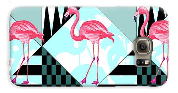 Ping Flamingo Galaxy S6 Case by Mark Ashkenazi