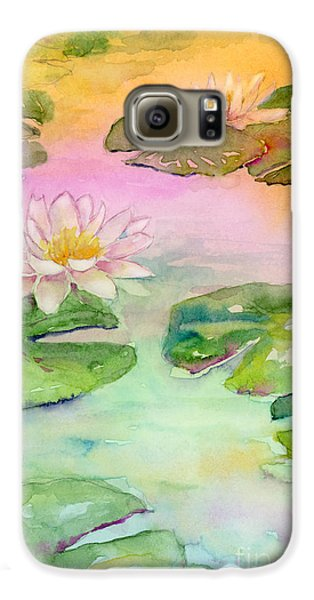 Pink Pond Galaxy S6 Case by Amy Kirkpatrick