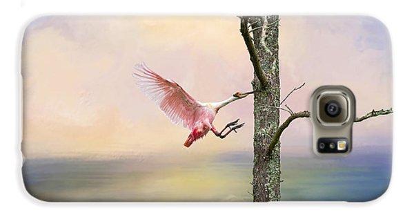 Pink Wonder Galaxy S6 Case by Bonnie Barry