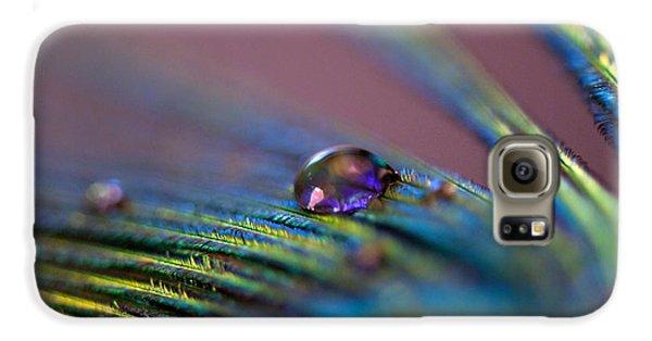 Plum Heart Galaxy S6 Case by Lisa Knechtel