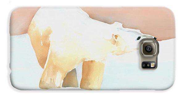 Polar Bear Galaxy S6 Case by Arline Wagner