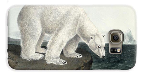 Polar Bear Galaxy S6 Case by John James Audubon