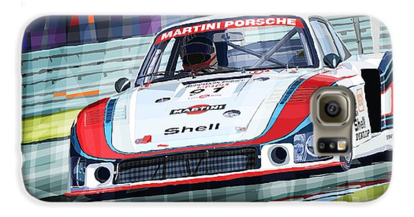 Porsche 935 Coupe Moby Dick Martini Racing Team Galaxy S6 Case by Yuriy  Shevchuk