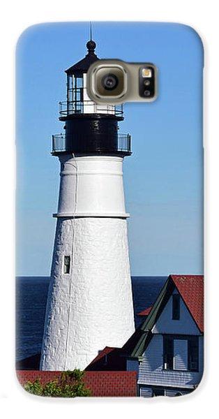 Portland Head Light No. 103 Galaxy S6 Case by Sandy Taylor