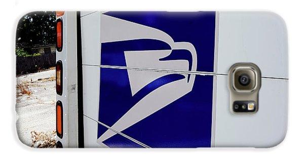 Post Office Truck Galaxy S6 Case by Kenneth Lempert
