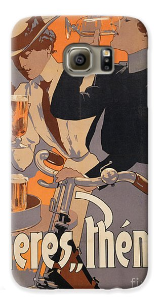 Poster Advertising Phenix Beer Galaxy S6 Case by Adolf Hohenstein