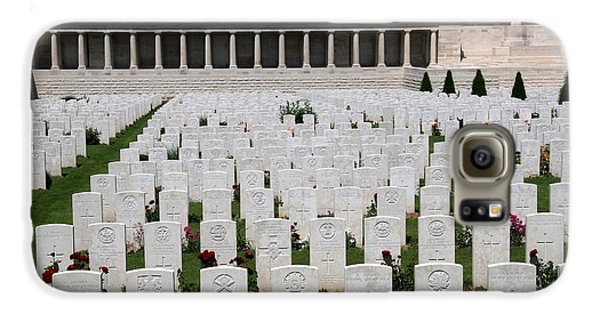 Galaxy S6 Case featuring the photograph Pozieres British Cemetery by Travel Pics
