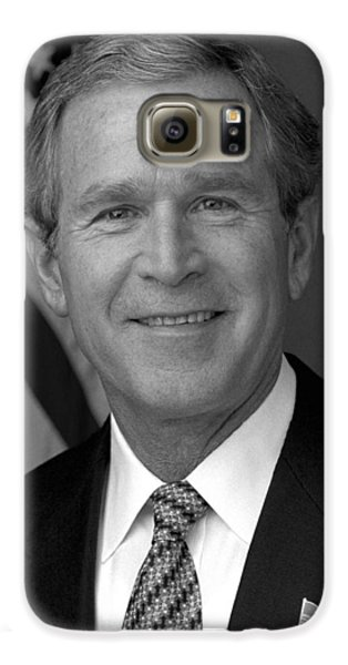 President George W. Bush Galaxy S6 Case by War Is Hell Store