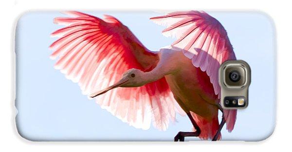 Pretty In Pink Galaxy S6 Case by Janet Fikar