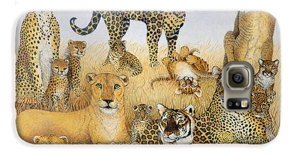 The Big Cats Galaxy S6 Case by Pat Scott