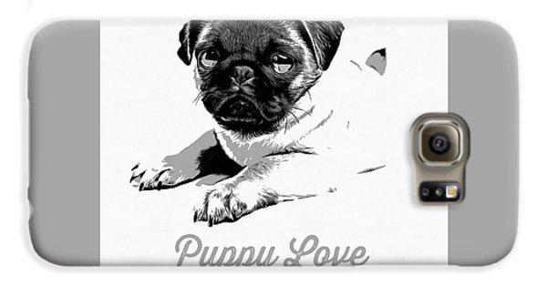 Puppy Love Galaxy S6 Case by Edward Fielding