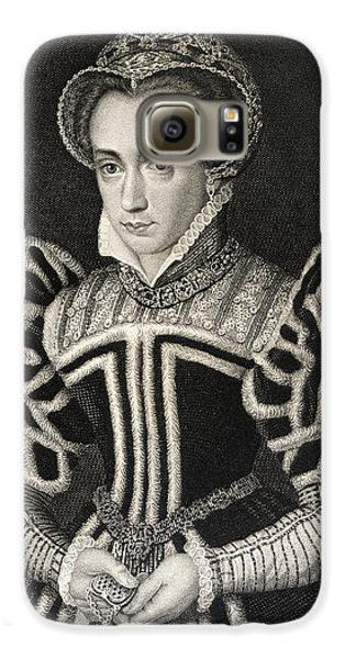 Queen Mary Aka Mary Tudor Byname Bloody Galaxy S6 Case by Vintage Design Pics