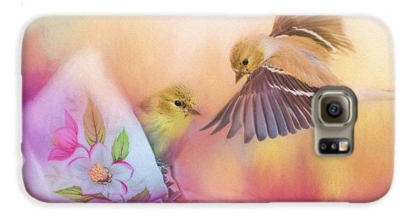 Raiding The Teacup - Songbird Art Galaxy S6 Case by Jai Johnson
