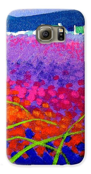 Rainbow Meadow Galaxy S6 Case by John  Nolan