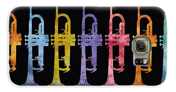 Rainbow Of Trumpets Galaxy S6 Case by Jenny Armitage