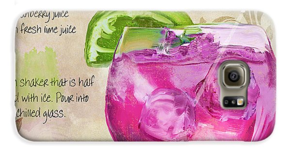 Rasmopolitan Mixed Cocktail Recipe Sign Galaxy S6 Case by Mindy Sommers