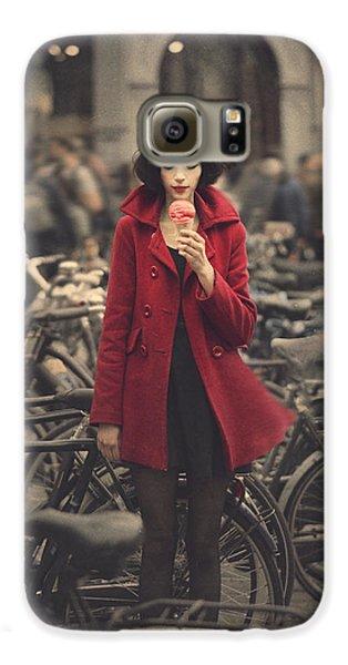 raspberry sorbet in Amsterdam Galaxy S6 Case by Anka Zhuravleva