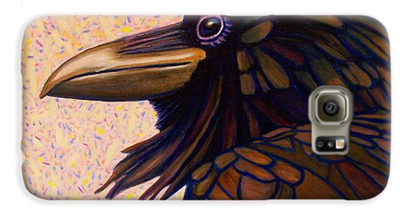 Raven Shaman Galaxy S6 Case by Brian  Commerford