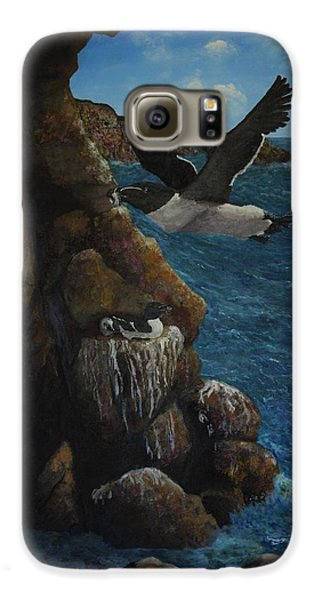 Razorbills Galaxy S6 Case by Eric Petrie