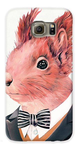 Red Squirrel Galaxy S6 Case by Animal Crew