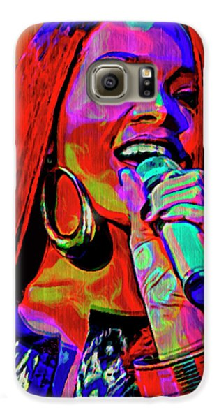 Rihanna  Galaxy S6 Case by  Fli Art