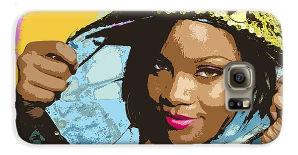 Rihanna Galaxy S6 Case by John Keaton