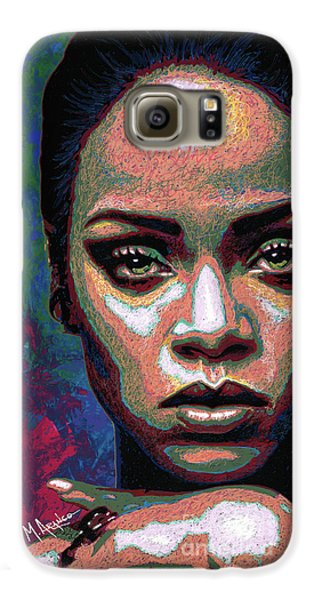 Rihanna Galaxy S6 Case by Maria Arango