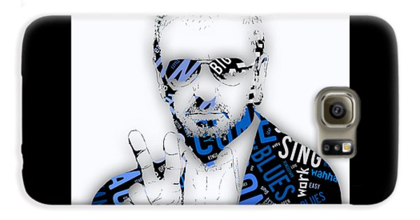 Ringo Starr It Don't Come Easy Lyrics Galaxy S6 Case by Marvin Blaine