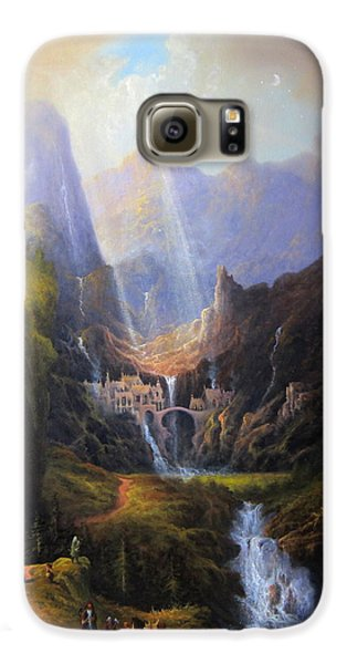 Rivendell. The Last Homely House.  Galaxy S6 Case by Joe Gilronan