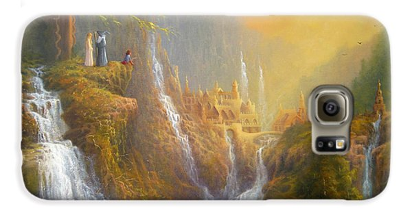 Rivendell Wisdom Of The Elves. Galaxy S6 Case by Joe  Gilronan