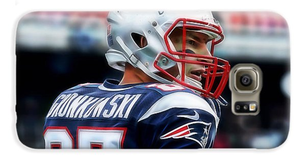 Rob Gronkowski Collection Galaxy S6 Case by Marvin Blaine