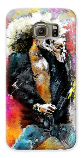 Robert Plant 03 Galaxy S6 Case by Miki De Goodaboom