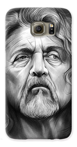 Robert Plant Galaxy S6 Case by Greg Joens