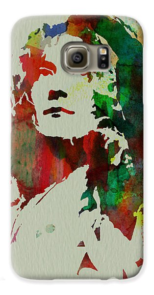 Robert Plant Galaxy S6 Case by Naxart Studio