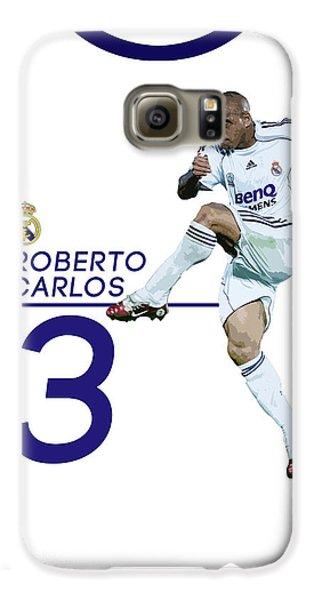 Roberto Carlos Galaxy S6 Case by Semih Yurdabak
